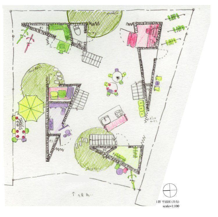 1st floor sketch