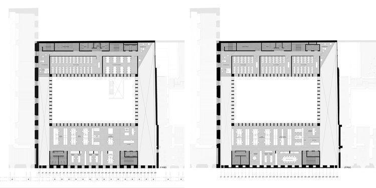 Planta 1er y 2do piso