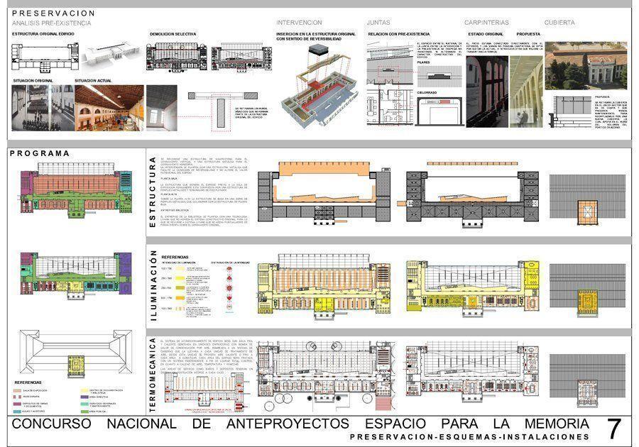 Concurso espacio para la memoria 3er premio arqa for Memoria descriptiva arquitectura