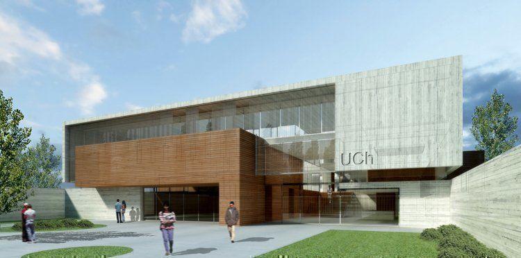 Arqa concurso edificio universidad de chubut menci n for Universidades para arquitectura