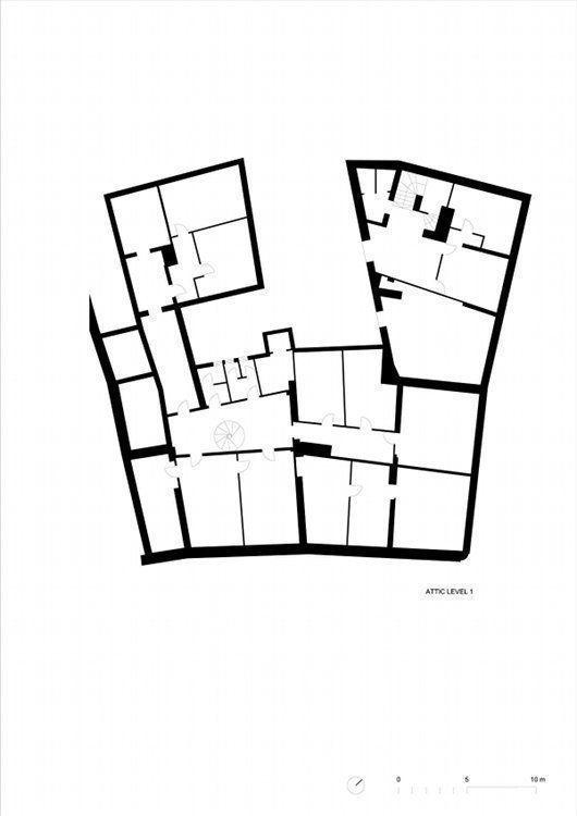 Existing attic level 1