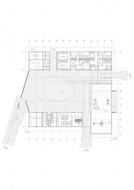 Sport center plan