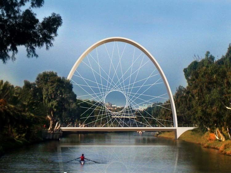 Proposed Pedestrian Bridge in Tel Aviv