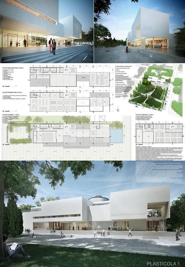 Concurso biblioteca municipal de campana resultados arqa for Biblioteca arquitectura