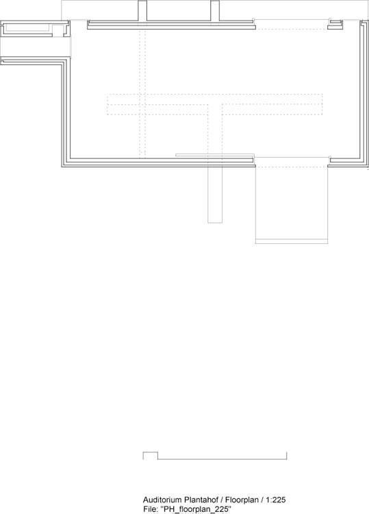 Floorplan | archive Olgiati