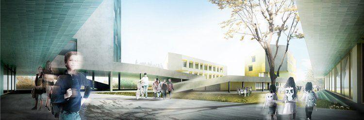 Concurso para escuela primaria y secundaria en Allschwill