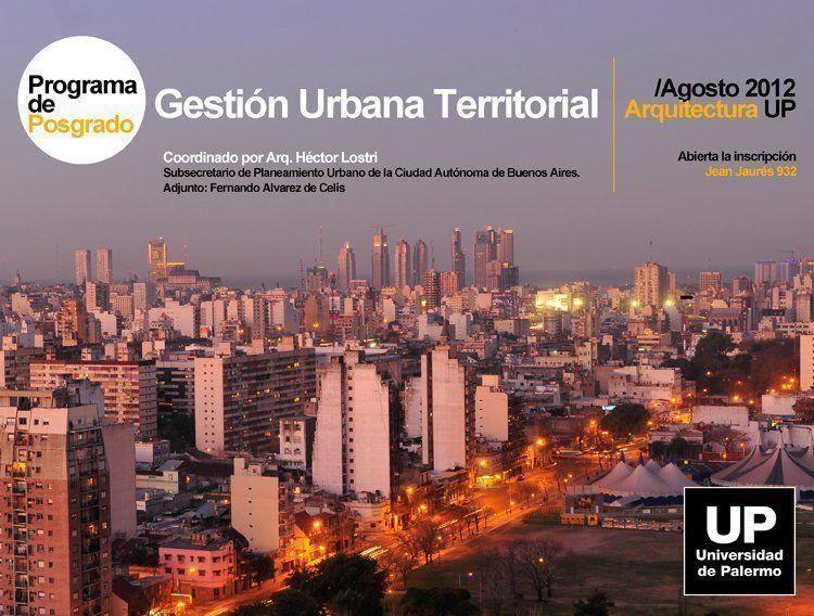 Gestión Urbana Territorial