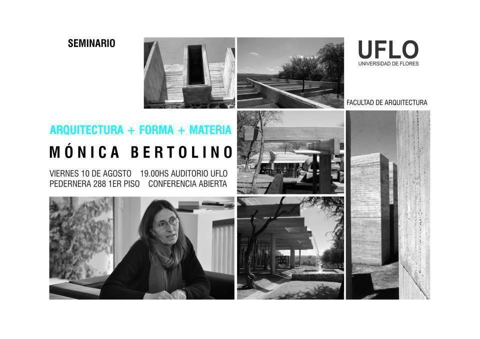 """Seminario: """"Arquitectura + Forma + Materia"""""""