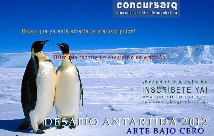Concurso Desafío Antártida 2012