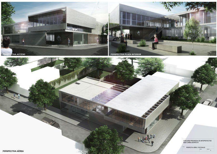Concurso Anteproyectos Nuevos Edificio de la Sede Cabecera del Distrito IV del Colegio de Arquitectos de la Provincia de Buenos Aires, participación