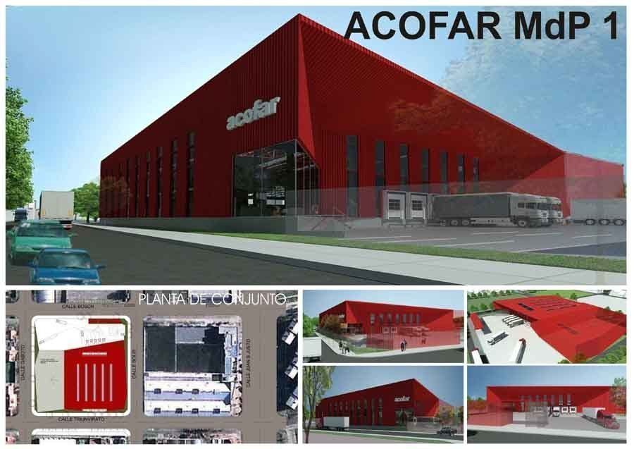 Concurso Sede de ACOFAR Cooperativa Farmacéutica de Crédito Vivienda y Consumo Limitada filial Mar del Plata, 1er. Premio