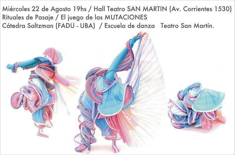 Rituales de Pasaje, en el Teatro San Martín