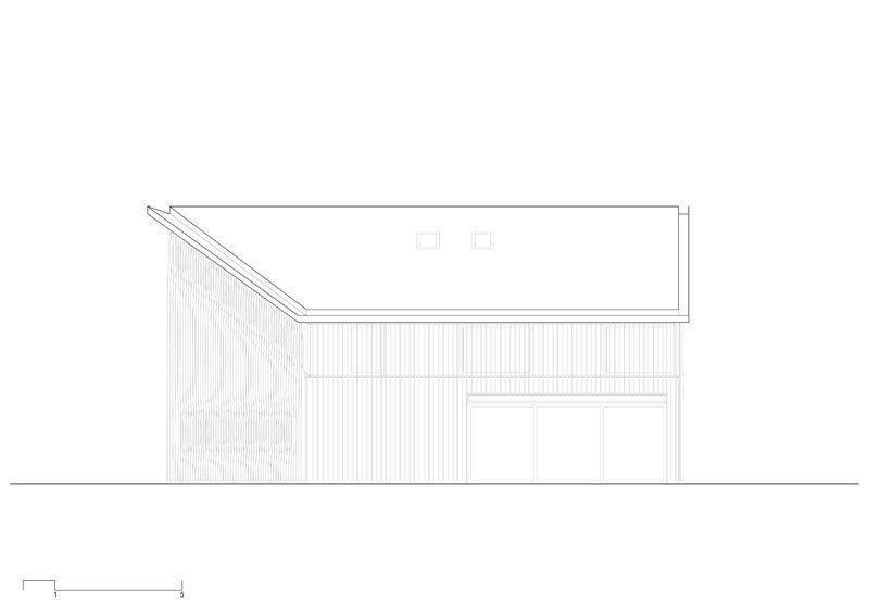 Northwest facade