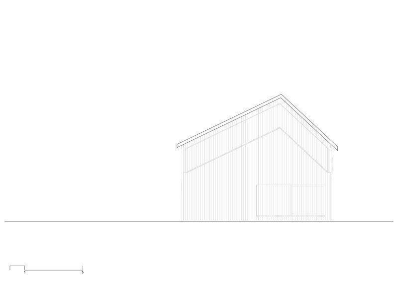 Southwest facade