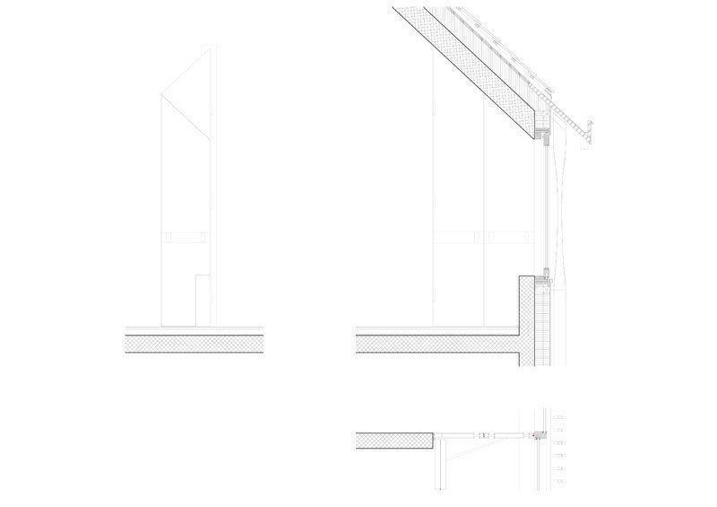 Detail doors with window