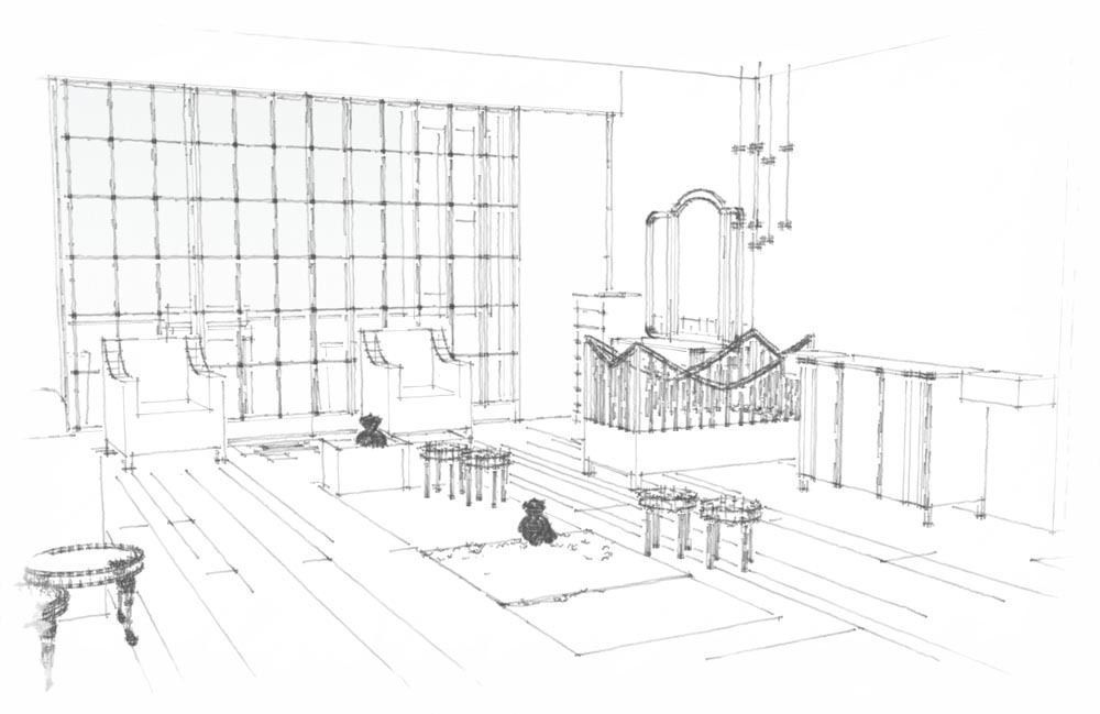 """""""La Chambre de Natalie"""", Espacio 25 en Casa Foa 2012"""