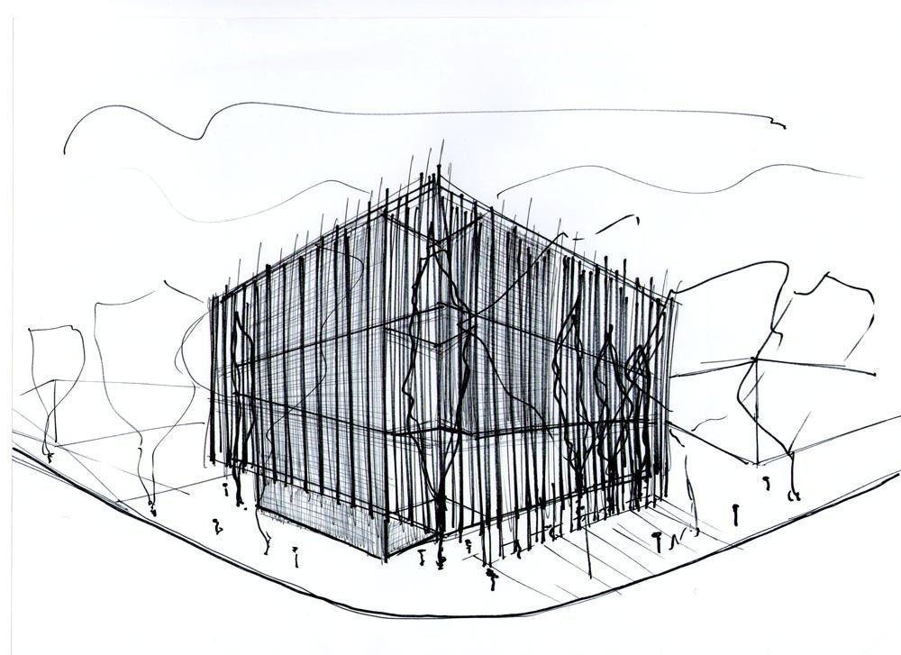 Concurso Anteproyectos Nuevos Edificio de la Sede Cabecera del Distrito IV del Colegio de Arquitectos de la Provincia de Buenos Aires, 2do. Premio