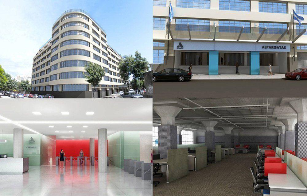 Terminaron las obras de renovación del edificio de Alpargatas