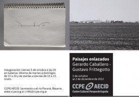 ARQA - Ferias y exposiciones Paisajes Enlazados, diálogo entre la fotografía y la arquitectura de Gustavo Frittegoto y Gerardo Caballero se inaugura el 5 de octubre a las 20 hs. en Galerías. Abierta de martes a domingo de 15 a 20 hs; y de martes a viernes de 10 a 13, gratis.