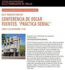 """ARQA - Conferencia: """"Práctica Serial"""" por Oscar Fuentes, en la UTDT"""