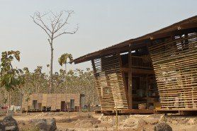 ARQA - Architecture, Safe Haven Library, in Thailand