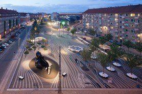 ARQA - Architecture; Superkilen in Nørrebro, Copenhagen