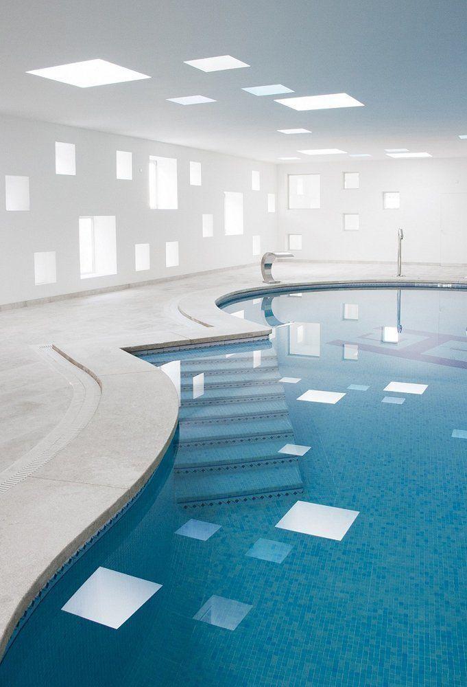 Arqa piscina climatizada y spa en mallorca for Temperatura piscina climatizada