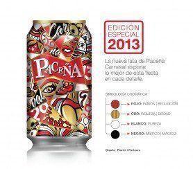 ARQA - Diseño Gráfico; Nueva lata Paceña Carnaval, por Pierini Partners
