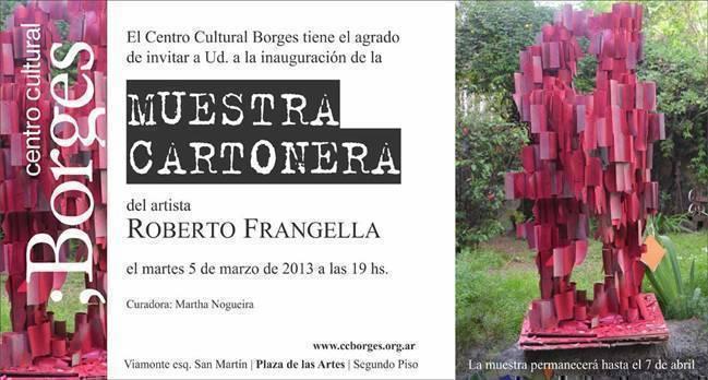Muestra Cartonera, por Roberto Frangella