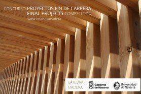 ARQA - Concurso: PFC Cátedra Madera, por la Universidad de Navarra