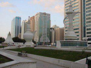 Al Ittihad Square, Abu Dhabi, United Arab Emirates. © Cortesía Manoel Rodrigues Alves.