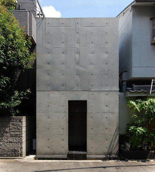 En 1976 Tadao Ando finalizó la construcción de la Azuma House, Osaka | openbuildings.com