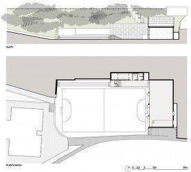 ARQA - Nuevo gimnasio en el CEIP Canigó, en Barcelona