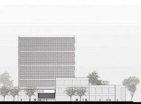 ARQA - Concurso Nueva Sede del Banco Provincia de Neuquén, mención de honor