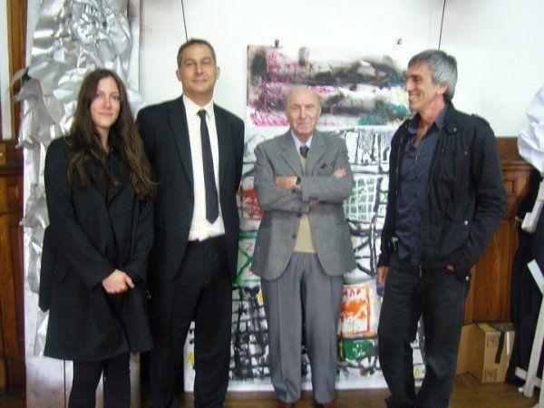 ARQA - En el estudio de Clorindo, con Beatriz Ramo y Enric Ruiz-Geli