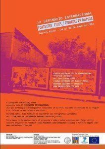 "Seminario: ""Contested_Cities/ Ciudades en disputa"""
