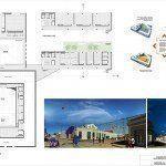 ARQA - Concurso Centro Educativo Cultural de la Ciudad de Diamante, 1er. Premio