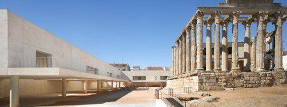 ARQA - Edificio perimetral y adecuación del entorno del Templo Romano de Diana. Mérida, Badajoz