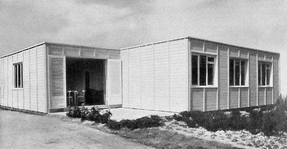 Ludwig Hilberseimer, La Casa que crece (Das wachsende Haus), 1930.