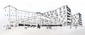 ARQA - Concurso Centro Cultural, Comercial y Residencial Paseo de Güemes, Mención Honorífica