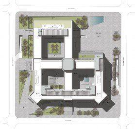 ARQA - Concurso Centro Cultural, Comercial y Residencial Paseo de Güemes, 1er. Premio