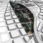 ARQA - Concurso Plan Maestro en Playa Ferroviaria de Liniers, mención
