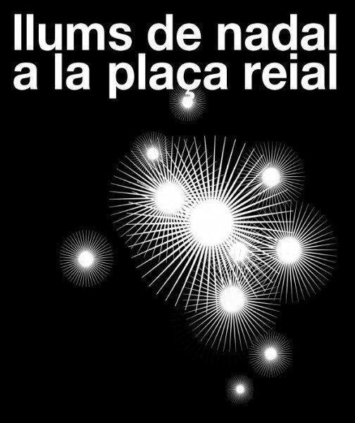 ARQA - Concurso para la iluminación de Navidad de la Plaça Reial de Barcelona