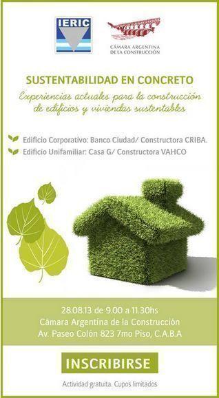 Sustentabilidad en Concreto