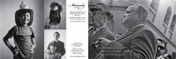 """ARQA - Exposición: """"Los sesenta revividos. Caras y caritas de Ronald Shakespear"""""""