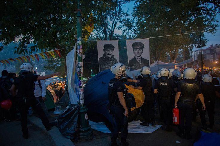 Protesta en el parque Gezi, Estambul, 15 de junio 2013
