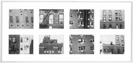 Window blow-out, Gordon Matta-Clark, 1975