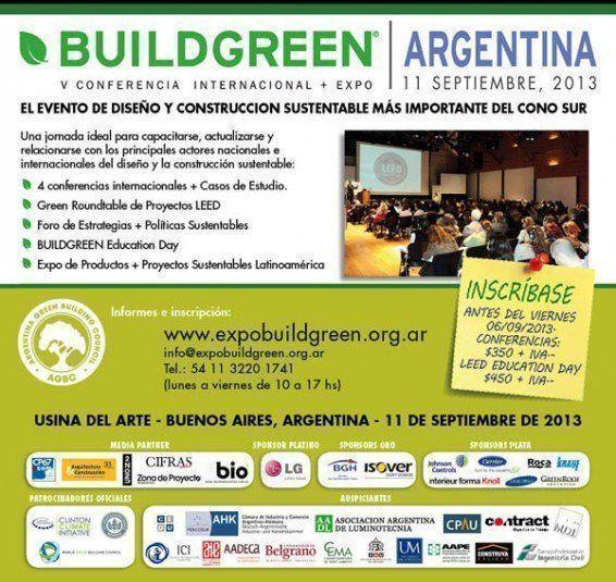 ARQA - V Conferencia Internacional Buildgreen