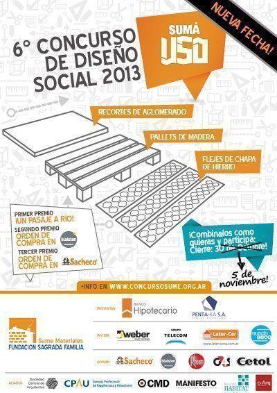"""ARQA - Concurso de Diseño Social: """"¡Sumá Uso!"""""""