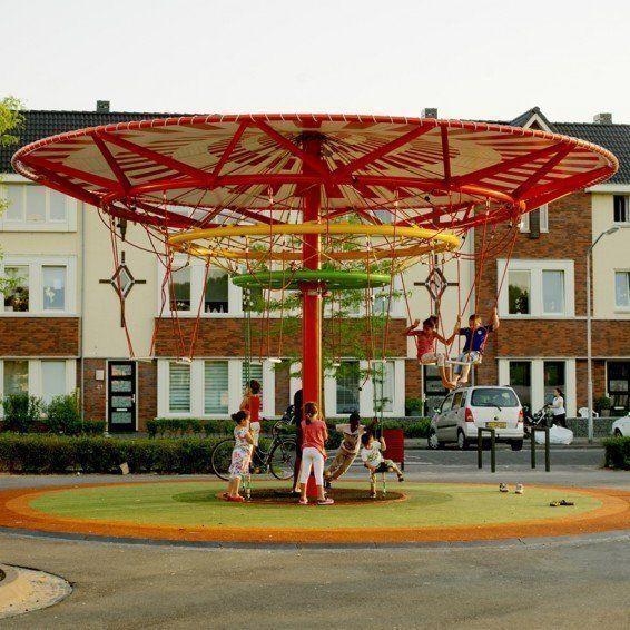 "ARQA - ""Energy Carousel"" de Ecosistema Urbano"